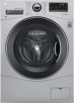 "LG WM3488H 24"" Compact All-In-One Washer/Dryer with 2.3 cu. ft. Capacity, 1400 RPM, 14 Wash Cycles, TrueBalance Anti-Vibration System, LoadSense, and 4 Drying Levels:"