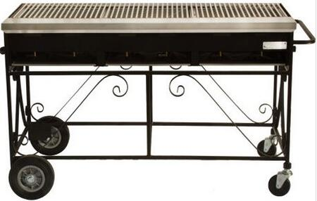 Lazy Man A3CCN  Freestanding Grill