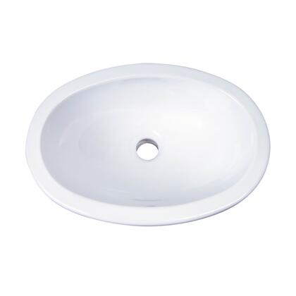 Barclay 4525WH White Drop-in or Undercounter Sink