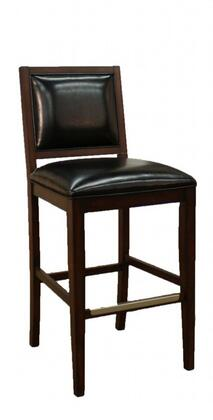 American Heritage 130766ESL15 Bryant Series Residential Leather Upholstered Bar Stool