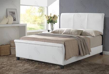 Glory Furniture G2757FBUP G2700 Series  Full Size Sleigh Bed