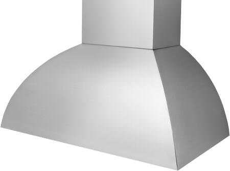 Prizer Hoods LARA Laramie Wall Mount Hood with Seamless Construction, 3-Speed Control, Halogen Lighting, High Heat Sensor and Baffle Filter, in Stainless Steel