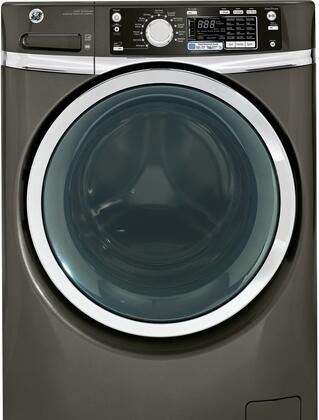 "GE GFWS2605FMC 28"" 4.5 cu. ft. Front Load Washer, in Metallic Carbon"