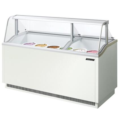 "Turbo Air TIDC70W 70"" Commercial Ice Cream Freezer"
