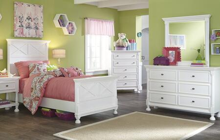 Signature Design by Ashley Kaslyn Twin Size Bedroom Set B502525383212646