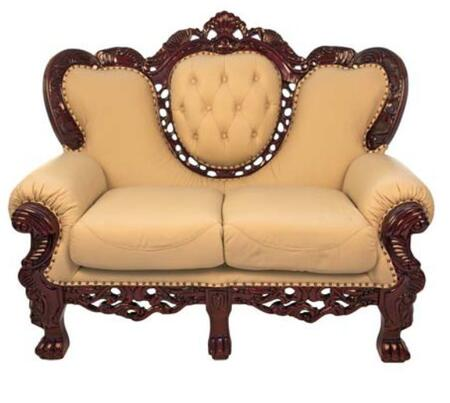 J. Horn 701L Traditional Style Loveseat