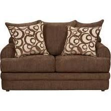 Flash Furniture 4652CALIBERXXXGG Exceptional Designs Caliber Loveseat in Chenille Upholstery