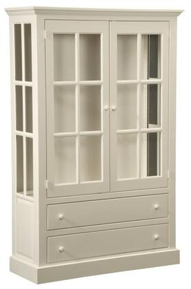 Chelsea Home Furniture 465016 Rebekah Series Freestanding Wood 2 Drawers Cabinet