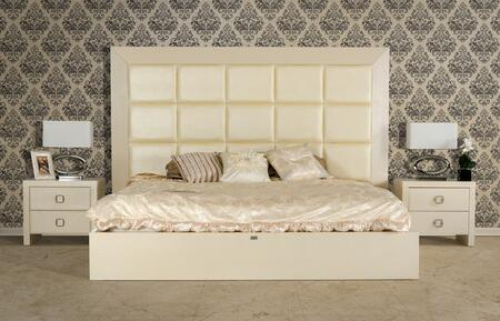 VIG Furniture VGUNGLAM-AA216-180 A&X Glam Modern Champagne Bed