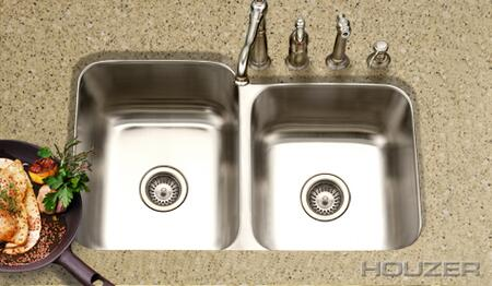 Houzer MEC3220SR Kitchen Sink
