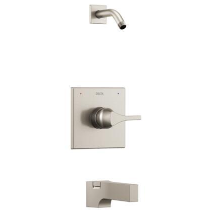 Zura T14474-SSLHD Delta Zura: Monitor 14 Series Tub and Shower Trim - Less Shower Head in Stainless