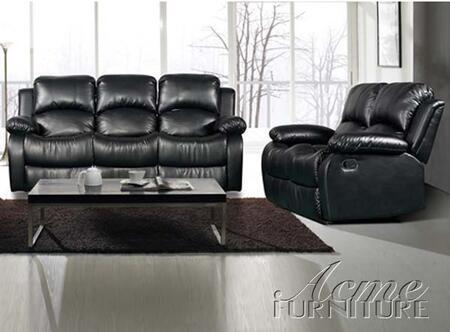 Acme Furniture 50000 Vista Series Sofa Leather Sofa