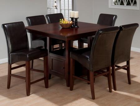 Jofran 93348TBKTSET7 Tessa Dining Room Sets