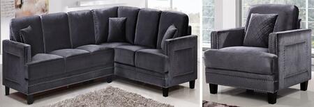 Meridian 655GRYSSC Living Room Sets