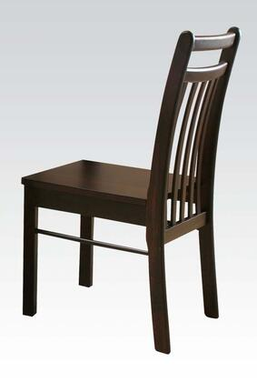 Acme Furniture 00862 Serra II Series Contemporary Wood Frame Dining Room Chair