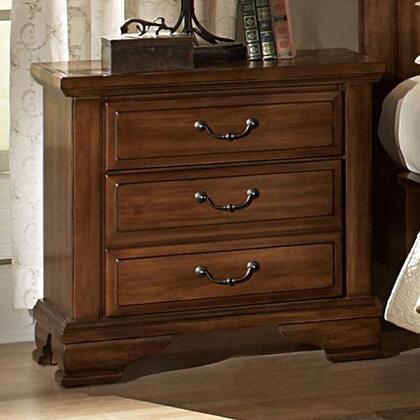 Vaughan-Bassett 780226  Rectangular Wood Night Stand