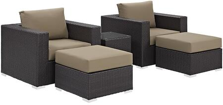 Modway EEI2201EXPMOCSET Rectangular Shape Patio Sets
