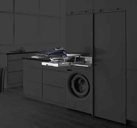 Asko HI115 The HiddenHelper Single Pull Out Shelf Ironing board in