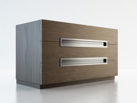 Modloft MD315DRWAL Monroe Series Wood Dresser