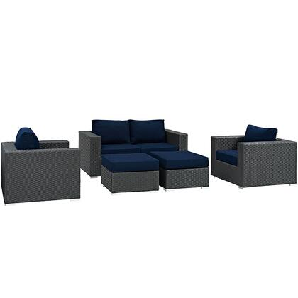 Modway EEI1879CHCNAVSET  Patio Sets