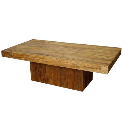 New Pacific Direct Template: Maxim Collection 961239 Square Coffee Table in Natural