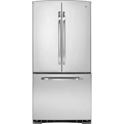 GE GFSS2HCYSS  French Door Refrigerator with 22 cu. ft. Capacity in Stainless Steel