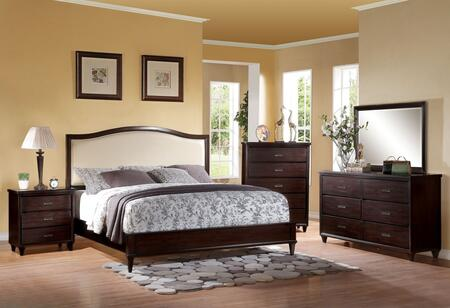 Acme Furniture 22817EK5PC Raleigh Bedroom Sets