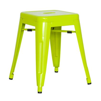 Chintaly 8018SCGRN4SET Bar Stools
