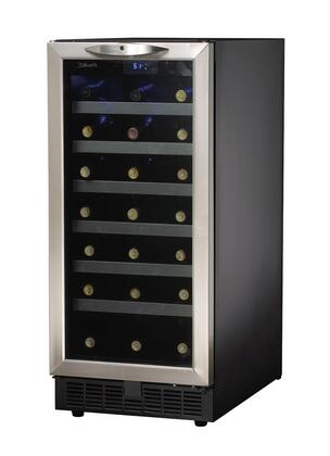 Danby Dwc1534bls Silhouette Series 15 Inch Stainless Steel Built In Wine Cooler