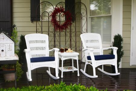 Tortuga PSR2PWH  Patio Chair