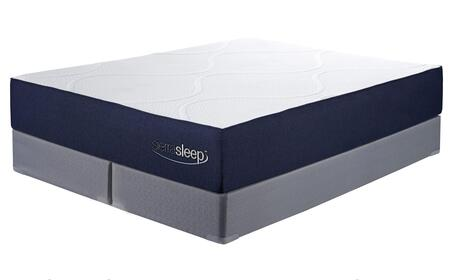 Sierra Sleep M97341M81X42 11 Inch Gel Memory Foam King Mattr