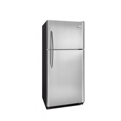 Frigidaire FGUI2149LF Freestanding Top Freezer Refrigerator with 20.6 cu. ft. Total Capacity 4 Glass Shelves 5.25 cu. ft. Freezer Capacity