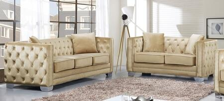 Meridian 648BESL Reese Living Room Sets
