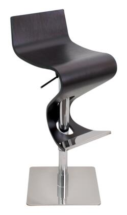 LumiSource BSVIVAWDWNG Viva Series Residential Not Upholstered Bar Stool