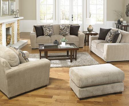 Jackson Furniture 44874PCSTLARMBNKIT1P Prescott Living Room