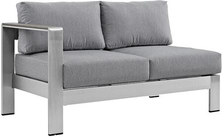 Modway EEI2265SLVGRY  Patio Love Seat
