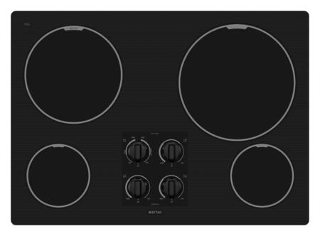 Maytag MEC7430WB  Electric Cooktop