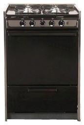 """Summit TNM616R 24"""" Professional Series Slide-in Gas Range with Sealed Burner Cooktop Broiler 2.92 cu. ft. Primary Oven Capacity"""