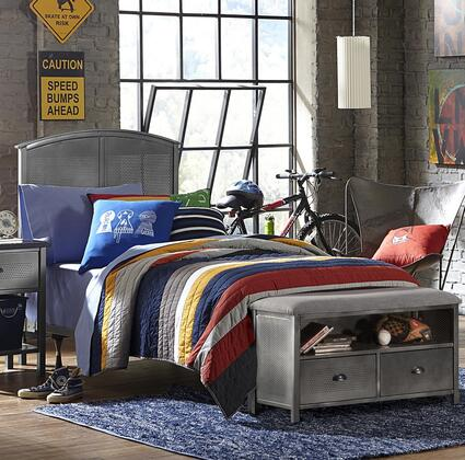 Hillsdale Furniture 1265BFRPB Urban Quarters Series  Full Size Panel Bed