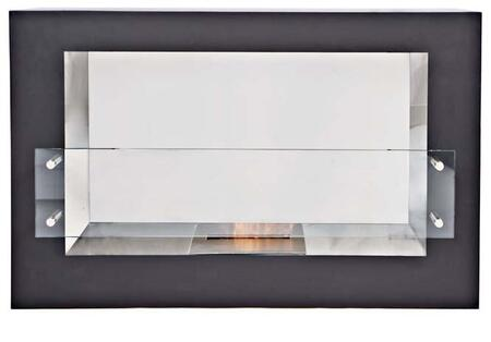Bio Flame ARGFTGWH Argento Series Vent Free Bioethanol Fireplace