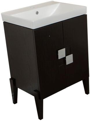 """Bellaterra Home 804366X 25"""" Single Sink Vanity - Wood"""