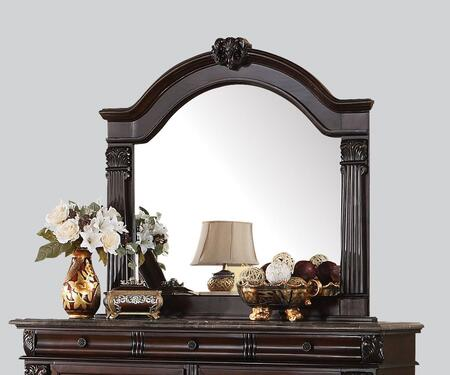 Acme Furniture 19348 Roman Empire Series Arched Portrait Dresser Mirror