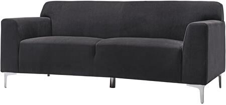 Glory Furniture G331S  Stationary Velvet Sofa