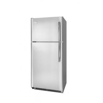 Frigidaire FPUI1888LR Professional Series Freestanding Top Freezer Refrigerator with 18.28 cu. ft. Total Capacity 4 Glass Shelves 4.07 cu. ft. Freezer Capacity
