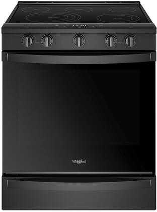 Whirlpool WEE750H0HX Smoothtop Range with 6.4 cu. ft. Capacity, True Convection, 5 Burners, Wifi and Aqualife in Stainless Steel