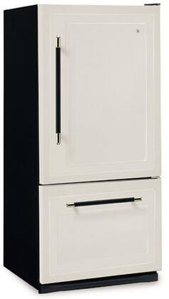 Heartland 306505LHD  Bottom Freezer Refrigerator with 18.5 cu. ft. Total Capacity 5.6 cu. ft. Freezer Capacity 0 Glass Shelves