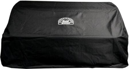 """Sole SOGCBI Built In PVC Coated Nylon Grill Cover for X"""" Luxury Series Grill in Black"""