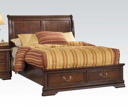 Acme Furniture 19450Q Hennessy Series  Queen Size Sleigh Bed