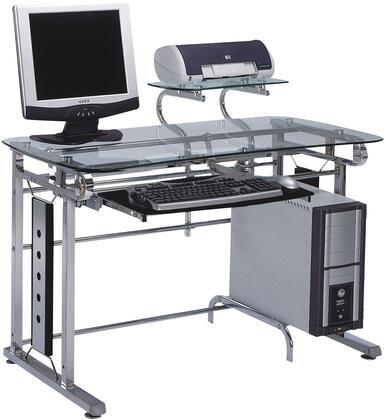 Acme Furniture 92040 Felix Series Computer  Metal Desk