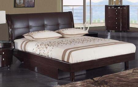 Global Furniture USA EVELYNWKB Evelyn Series  Bed
